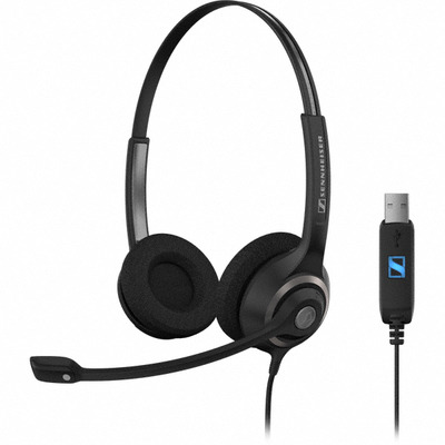 Sennheiser SC 260 USB Headset - Zwart