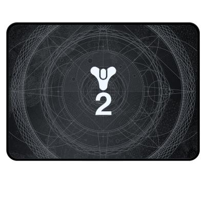 Razer muismat: Destiny 2 Goliathus Medium Speed - Zwart, Wit
