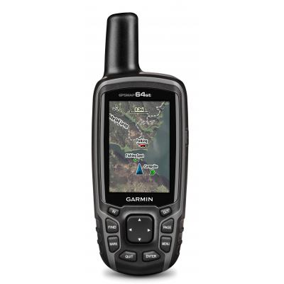 Garmin navigatie: GPSMAP 64st - Zwart