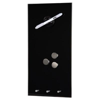 Hama magnetisch bord: Magnetic Glass Board, 20 x 40 cm, black - Zwart