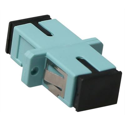 ACT SC-SC, 0.1 dB, Aqua Fiber optic adapter - Aqua-kleur