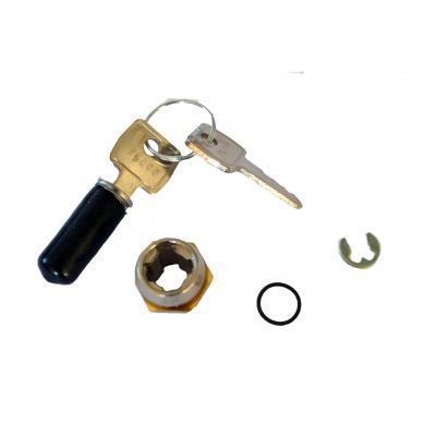 APG Cash Drawer LOCK (75 series) with 2 random keys - Zwart,Metallic