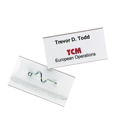 Durable 8006-19 Badge - Transparant