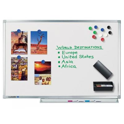 Legamaster magnetisch bord: Whiteboard Lega Prof. emaille 300x120