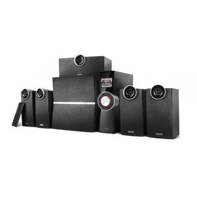 Edifier luidspreker set: 5.1 multimedia luidsprekersysteem met optische ingang en meer - Zwart