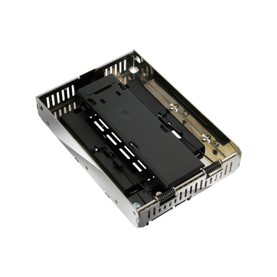 Icy Dock EZConvert Air Interfaceadapter - Zwart, Chroom