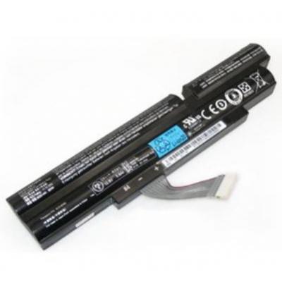 Acer batterij: 6 Cell 6000mAh - Zwart