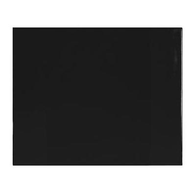 Kangaro bureaulegger: 63x50 cm, Kunststof, Zwart