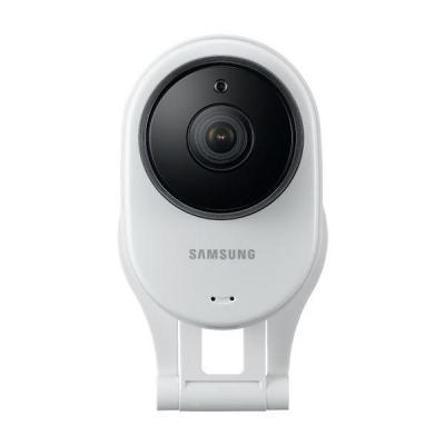 Samsung beveiligingscamera: 1920x1080, 4X, Two-Way Talk, 802.11 b/g/n - Wit