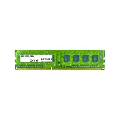2-power RAM-geheugen: 2GB DDR3 1333MHz DR DIMM