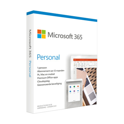 Microsoft 365 Personal Win/Mac (Dutch) (1 Year) Besturingssystemen