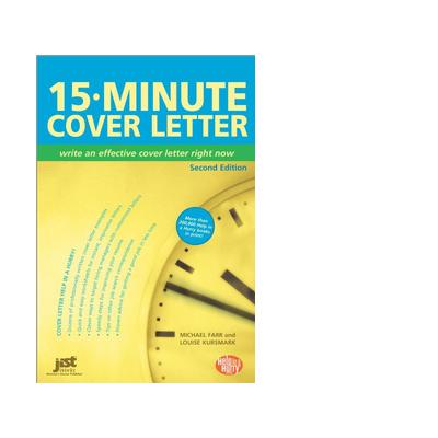 Jist publishing boek: 15-Minute Cover Letter - eBook (PDF)
