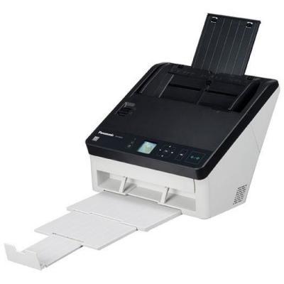 Panasonic scanner: A4, Duplex, ADF, Light source RGB LED, 130ipm, USB 3.0, 40W, 4kg - Zwart, Wit