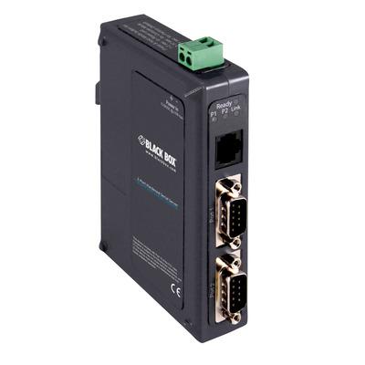 Black Box 1 Seriele server - Zwart