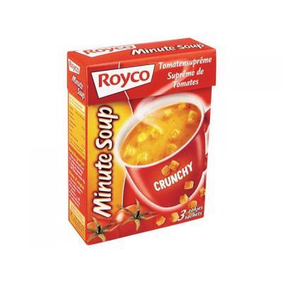 Royco voedingswaar: Minute soup Tomaat +croût/ds 20