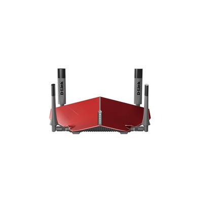 D-Link AC3150 Wireless router - Grijs, Rood