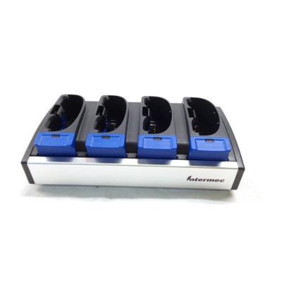 Intermec 4-Slot, f / CK30 / CK31 Oplader - Zwart,Blauw,Grijs