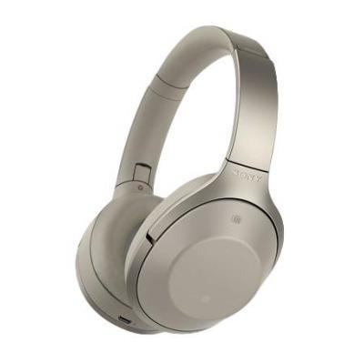 Sony headset: 1000X Bluetooth-hoofdtelefoon met ruisonderdrukking - Beige