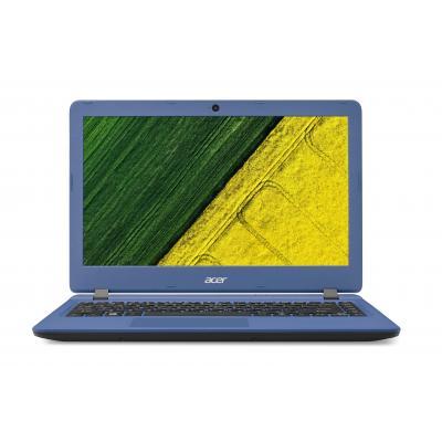 Acer laptop: Aspire ES1-332-C1ZL - Zwart, Blauw, QWERTY