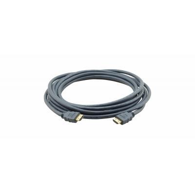 Kramer Electronics Kramer Flat High Speed HDMI M-M HDMI kabel - Taupe