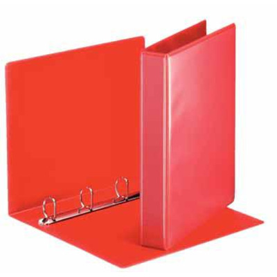 Esselte ringband: Panorama Ring Binders 4 x 30 mm Red - Rood
