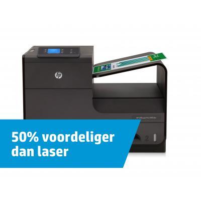 HP Officejet Pro X451dw Inkjet printer - Zwart, Cyaan, Magenta, Geel