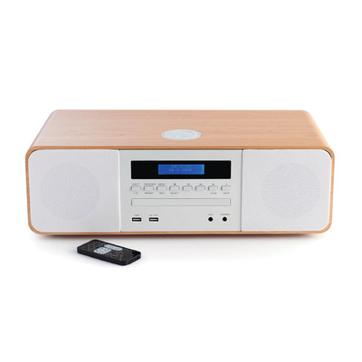 Thomson 50 W, Bluetooth, FM, USB, AAA Home stereo set - Wit