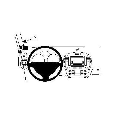 Brodit ProClip Accessoire  - Zwart