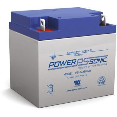 Power-Sonic PS-12280 UPS batterij - Blauw, Grijs