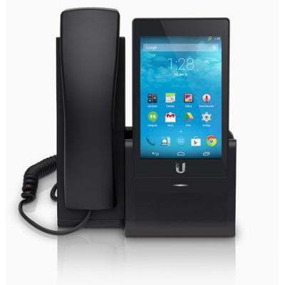 "Ubiquiti networks dect telefoon: Enterprise VoIP Phone with 5"" Touchscreen - Zwart"