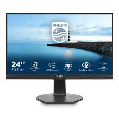 Philips B Line LCD-met USB-docking 241B7QUPEB/00 Monitor - Zwart