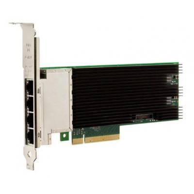Intel netwerkkaart: X710-T4 - Zwart, Groen