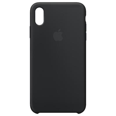 Apple mobile phone case: Siliconenhoesje voor iPhone XS Max - Zwart