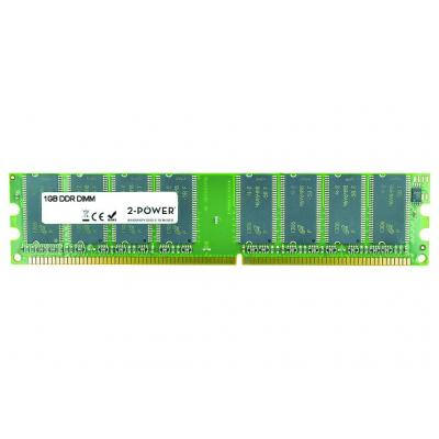 2-power RAM-geheugen: 1GB DDR 400MHz DIMM Memory - replaces 2PDPC400UDJA11G - Groen