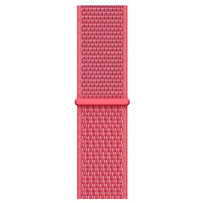 Apple Geweven sportbandje - Hibiscus (40 mm) - Rood