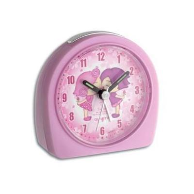 """Tfa wekker: """"Best friends"""" electronic children's alarm clock - Roze"""