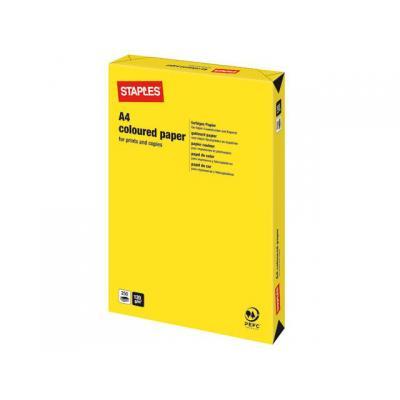 Staples papier: Papier SPLS A4 120g felgeel/pak 250v