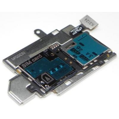 Samsung mobile phone spare part: GT-I9305 Galaxy S3 LTE - Sim / Memory Card Reader