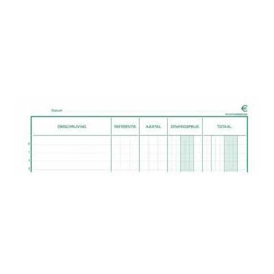 Exacompta bedrijfsformulier: PIQUUR INVENTARIS 32X19,5 NL