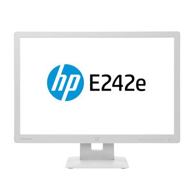 HP EliteDisplay E242e Monitor - Grijs - Refurbished A-Grade