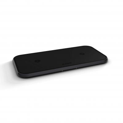 ZENS 92 x 8.2 x 178 mm, 214 g, 20W (2x10W) Oplader - Zwart