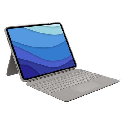 Logitech Combo Touch Mobile device keyboard - Zand