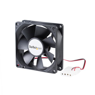 StarTech.com 80x25mm Ventilator voor Computerbehuizing met Dubbele Kogellagers en LP4 Connector Hardware .....