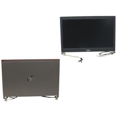 Fujitsu notebook reserve-onderdeel: LCD MODULE W/ CAM(LVDS,HD+) - Zwart