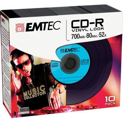 Emtec CD: CD-R Vinyl Look