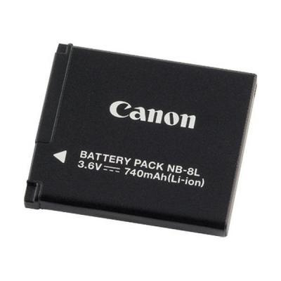 Canon batterij: NB-8L - Zwart