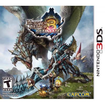 Nintendo game: Monster Hunter 3, Ultimate  3DS
