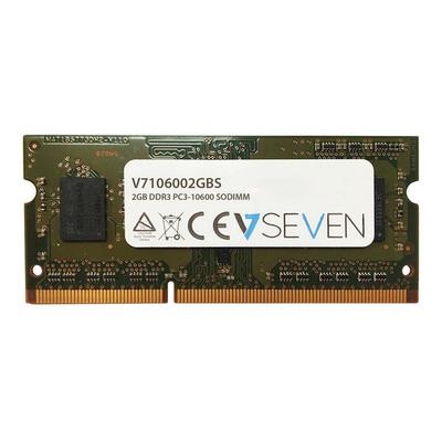 V7 2GB DDR3 PC3-10600 - 1333mhz RAM-geheugen