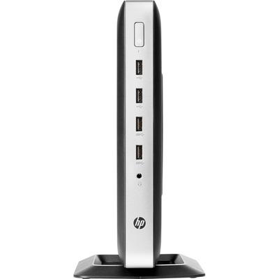 HP t630 Thin client - Zilver, Zwart