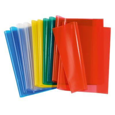 Herma tijdschrift/boek kaft: 19992 - Blauw, Groen, Rood, Transparant, Geel